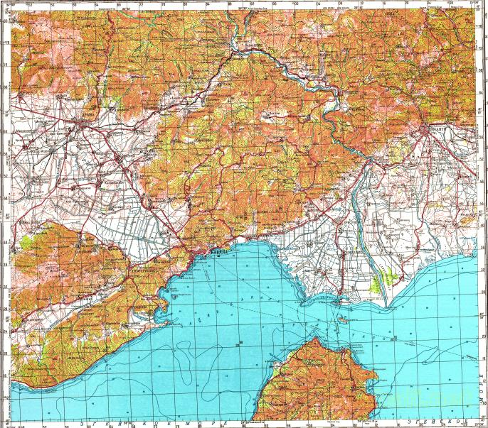 Download topographic map in area of Xanthi Drama Kavala mapstorcom