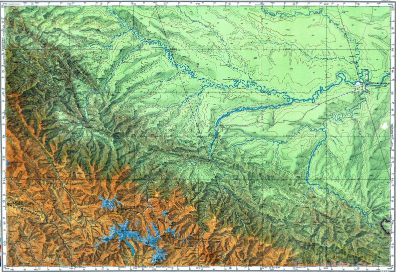 Download topographic map in area of cusco oropesa puerto reduced fragment of topographic map ru gs 500k xd19 publicscrutiny Image collections