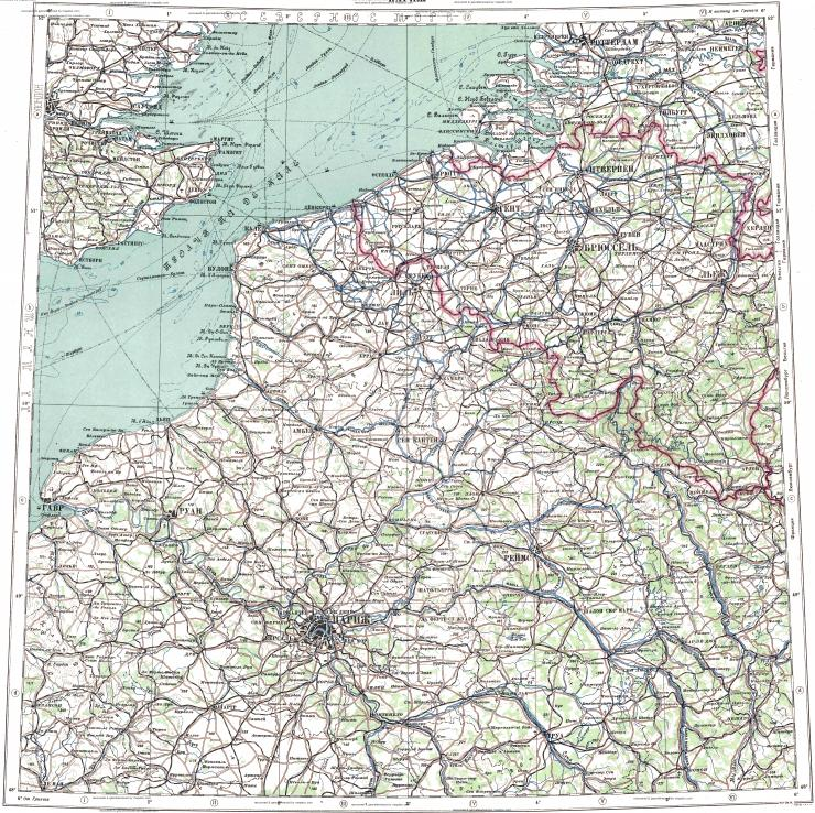 Download topographic map in area of Paris Brussels Antwerp – Topographic Map of Belgium